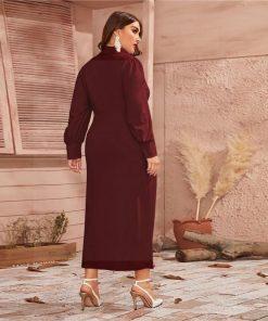 Hippie Stil Kleid groß